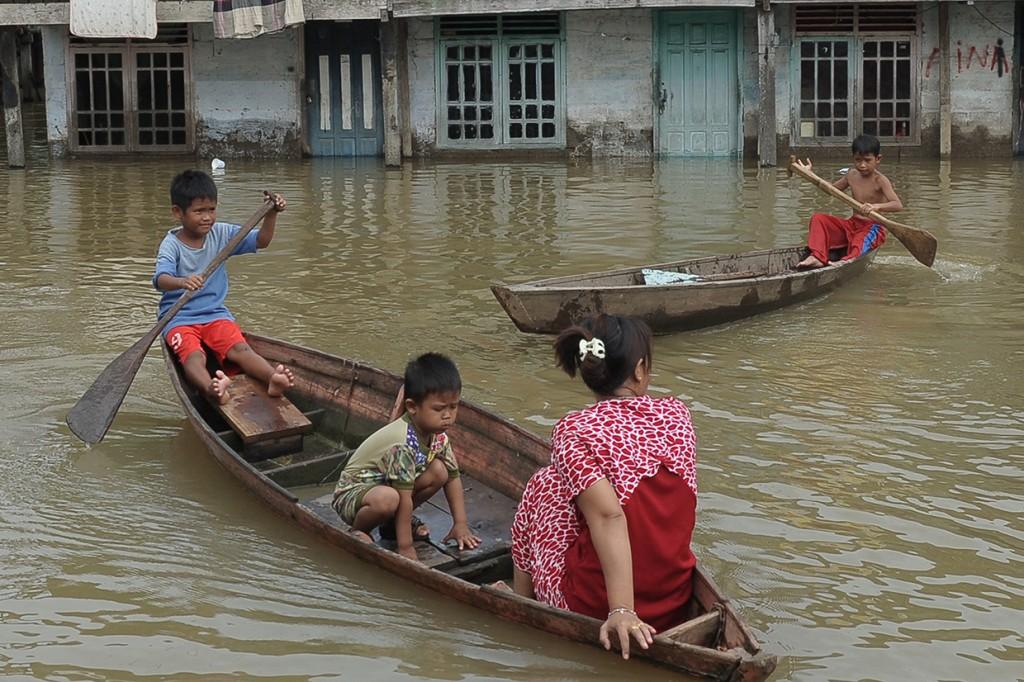 Banjir di Jambi Meluas
