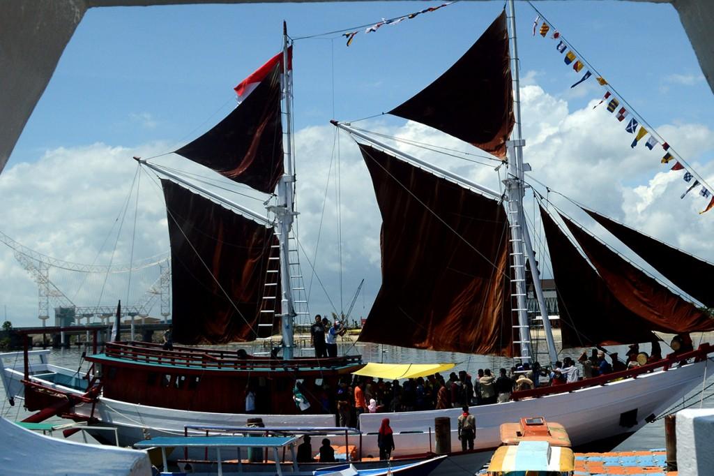 Peluncuran Ekspedisi Pinisi Bakti Nusa