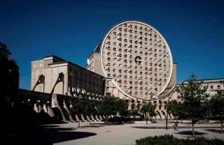 Kompleks Hunian 'Keju' di Pinggiran Paris