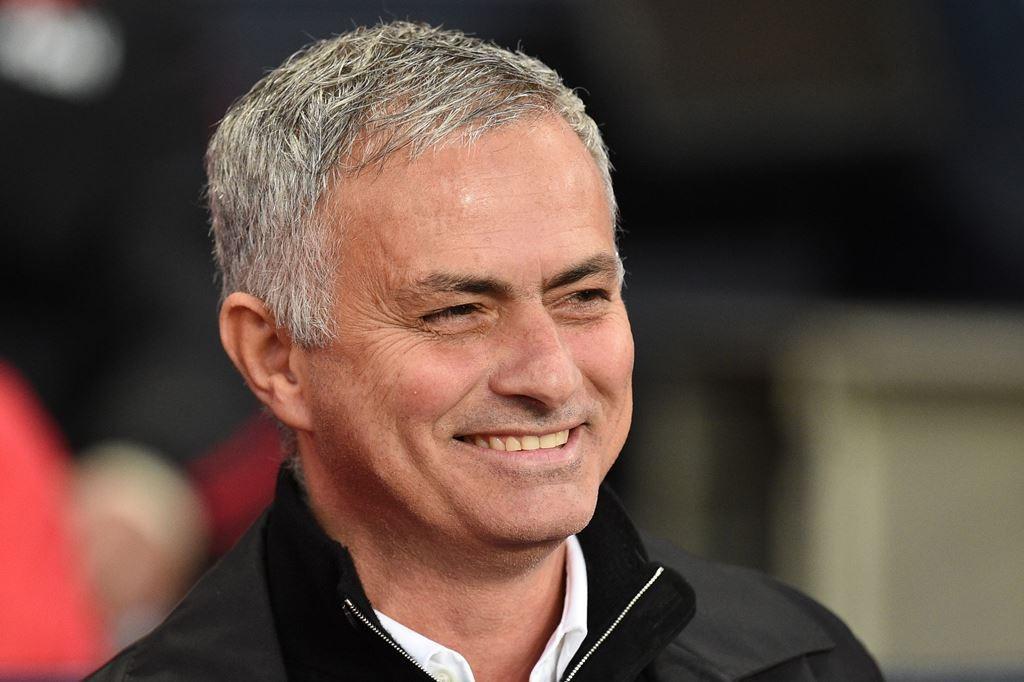 Manajer Manchester United, Jose Mourinho (AFP/Oli Scarff)