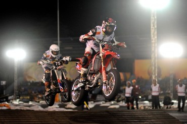 Pembalap Indonesia Dominasi Seri Terakhir TGA 2018