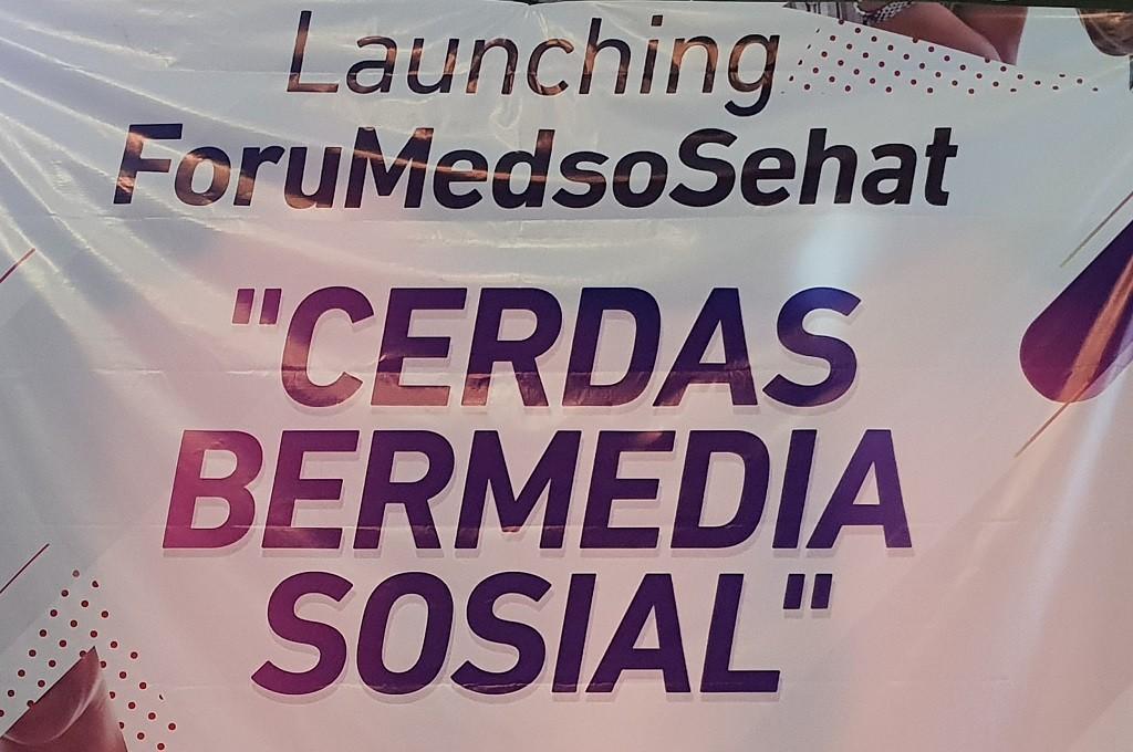 ForuMedsoSehat bertujuan membantu pengguna media sosial lebih bijak mencerna informasi.