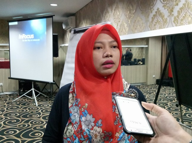 Direktur Eksekutif Perkumpulan untuk Pemilu dan Demokrasi (Perludem) Titi Anggraini - Medcom.id/Siti Yona Hukmana.