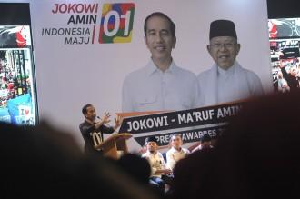 Jokowi Ingatkan Pendukung tak Terbuai Hasil Survei