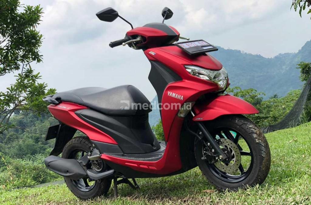 Jajal Yamaha FreeGo, motor otomatis anti ribet di jalan. medcom.id/Ahmad Garuda