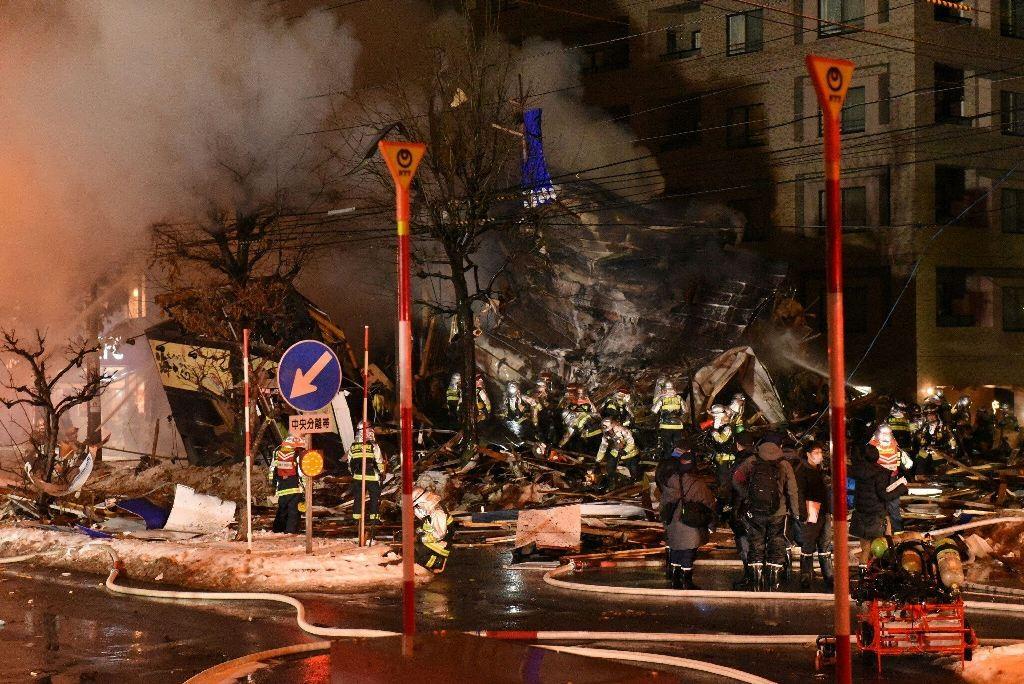Ledakan di sebuah restoran Jepang melukai 42 orang. (Foto: AFP).