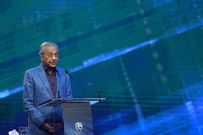 Perdana Menteri Malaysia Mahathir Mohamad. (Foto: AFP).