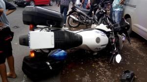 Anggota Patwal Polres Mojokerto Tewas Kecelakaan