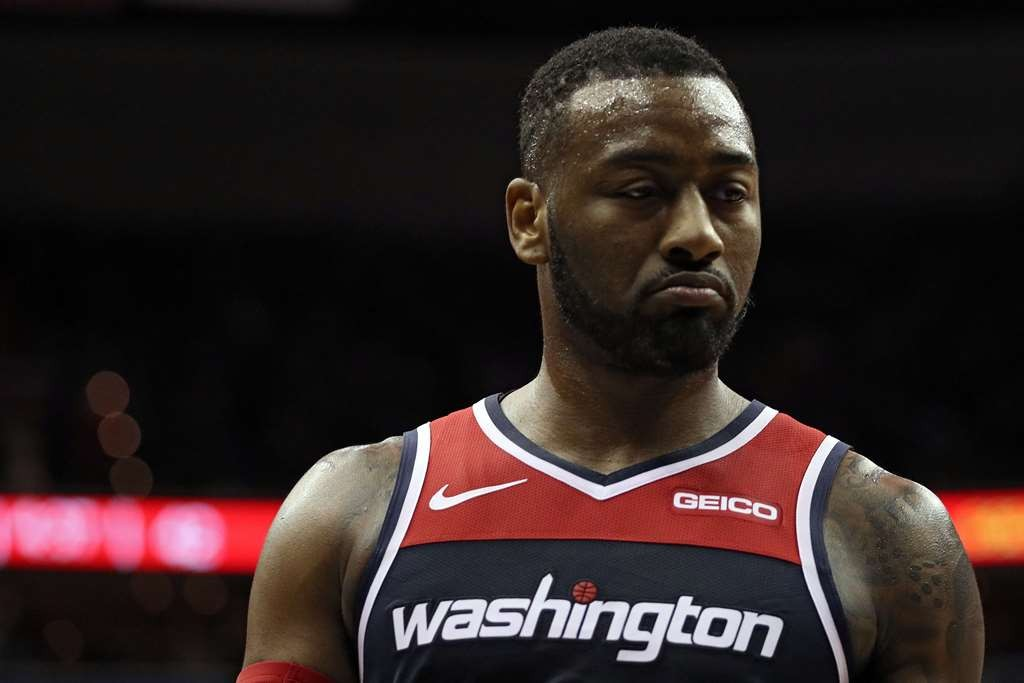 Point guard Washington Wizards, John Wall (AFP/Patrick Smith)