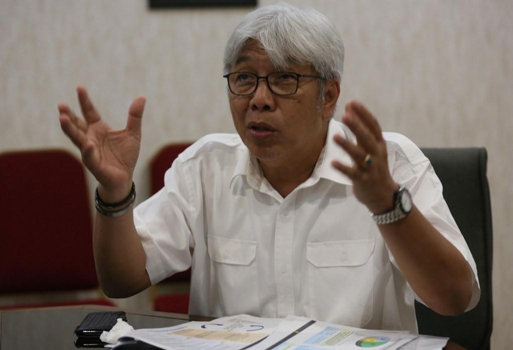 Direktur Mineral dan Batu Bara Kementerian ESDM Bambang Gatot. (FOTO: MI/Ramdani)