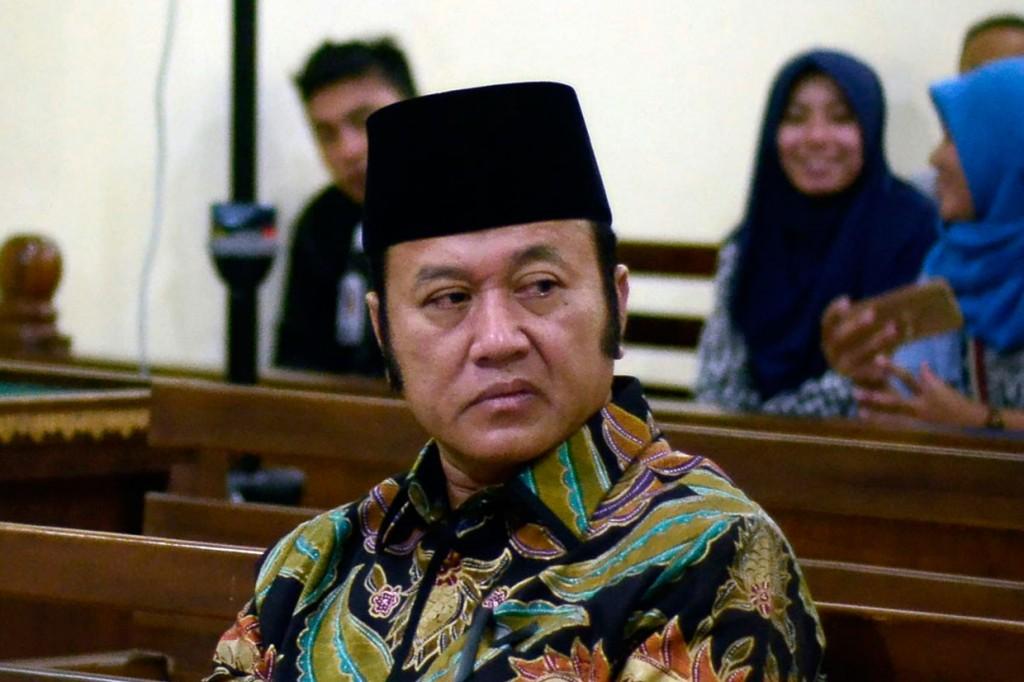 Bupati nonaktif Lampung Selatan Jalani Sidang Dakwaan