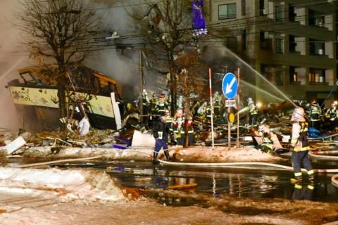 Kebocoran Gas Diduga Pemicu Ledakan Restoran di Jepang