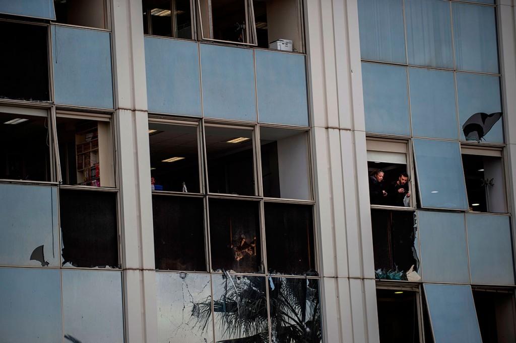 Skai TV Yunani Diteror Bom