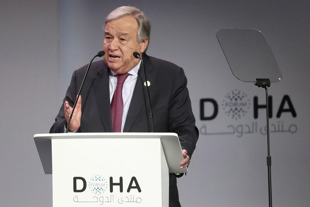 Sekretaris Jenderal PBB Antonio Guterres. (Foto: AFP).