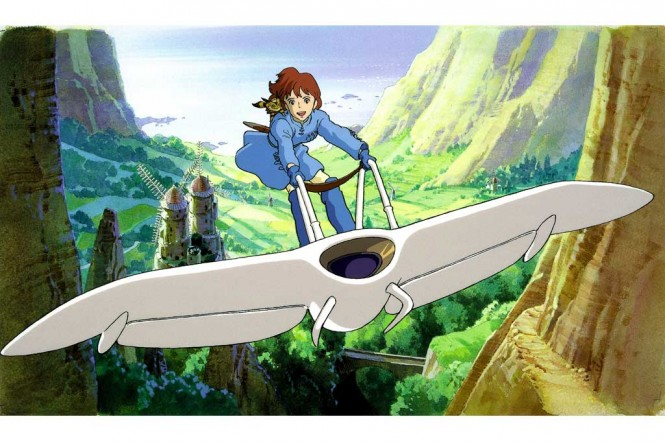 Potongan animasi Nausicaa of the Valley of the Wind (Foto: ifccenter.com)