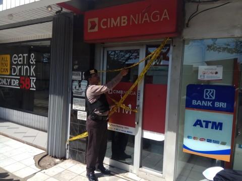 ATM CIMB Niaga di Depok Dibobol