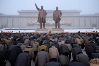 Korut Rayakan 7 Tahun Meninggalnya Kim Jong-il