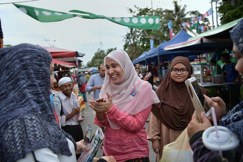 Nurul Izzah Anwar. (Foto: Strait Times)
