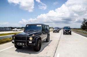 Mercedes Jip Indonesia, Tour Akhir Tahun ke Jawa Timur
