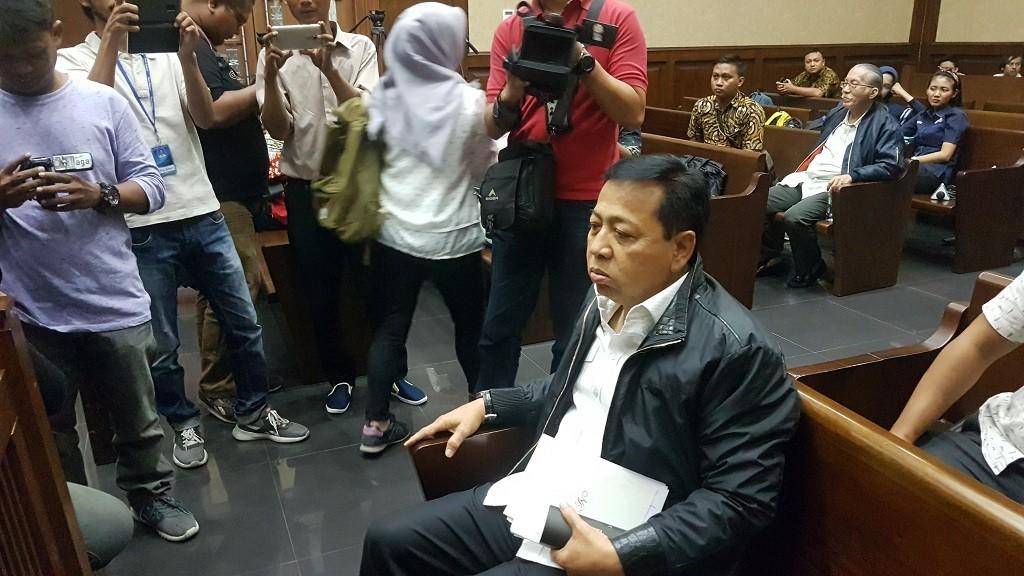 Eks Ketua DPR RI Setya Novanto - Medcom.id/Damar Iradat.