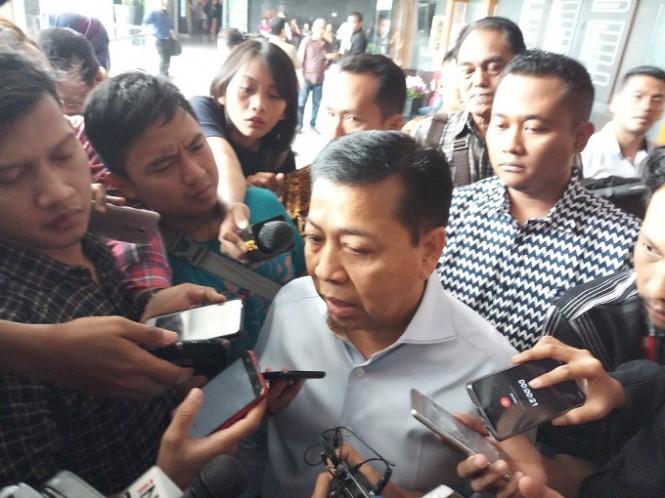 Mantan Ketua DPR RI Setya Novanto - Medcom.id/M Sholahadhin Azhar