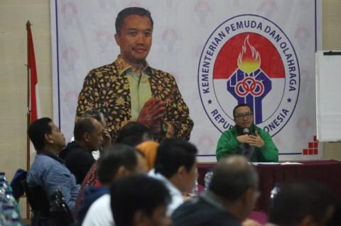 Pejabat Kemenpora Diminta Konsisten Jalankan Program Prioritas 2019