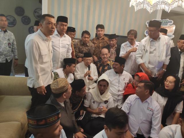 Vice presidential candidate Ma'ruf Amin (Photo:Medcom.id/Adin)