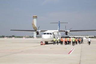 Garuda Indonesia Resmi Buka Penerbangan dari Bandara Kertajati
