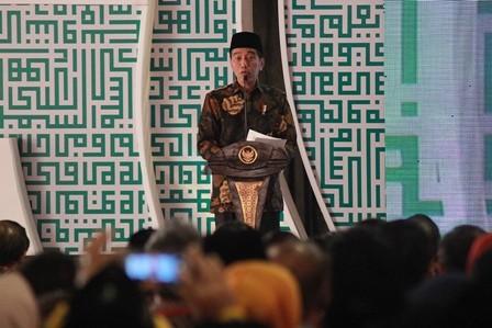 President Joko Widodo (Photo:MI/Bary Fathahilah)
