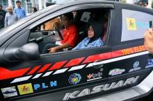 Mobil Listrik Blits Sudah Tempuh Perjalanan 3.584 Kilometer