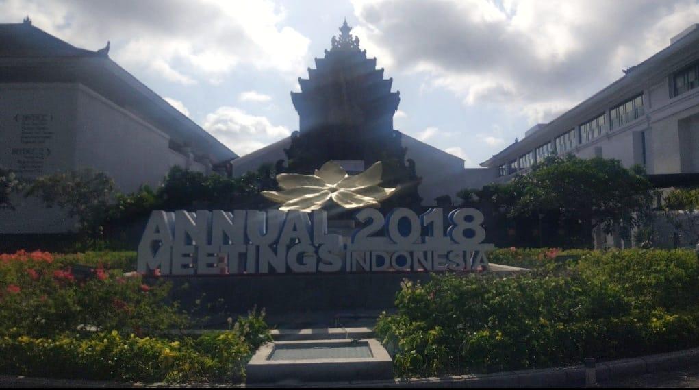 Gelaran IMF-World Bank Annual Meeting di Bali pada 8-14 Oktober 2018. Medcom/Annisa Ayu.
