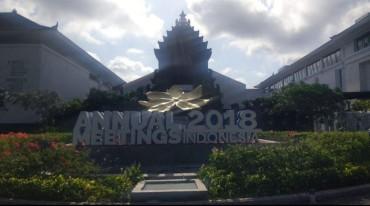 Pagelaran IMF-World Bank di Bali Hasilkan Devisa Rp396 Miliar