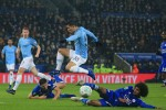 Bekap Leicester, Manchester City ke Semifinal