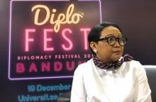 2.000 Mahasiswa Hadiri Kuliah Umum Menlu Retno di Bandung