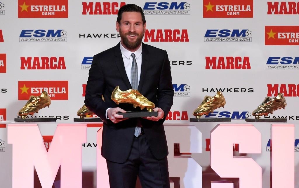Lionel Messi (Foto: AFP/Lluis Gene)