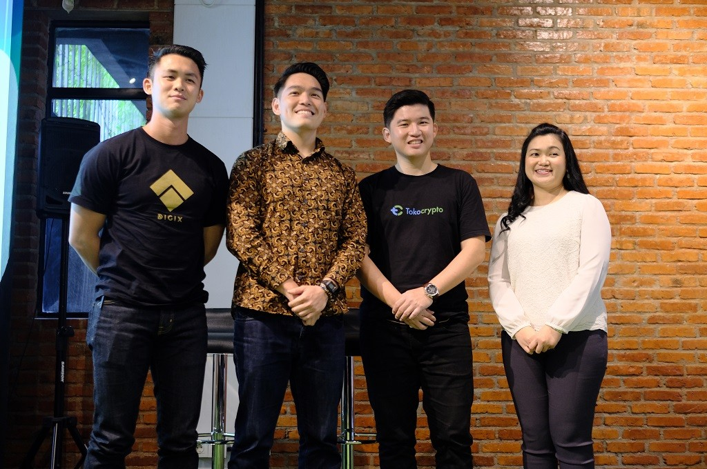 TokoKrypto mengumumkan kerja sama dengan Digix dan Indogiving.
