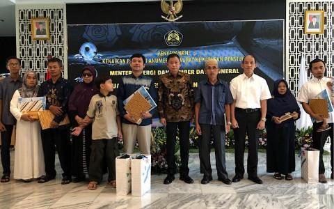 KESDM Beri Penghormatan Tiga Pegawai Korban Lion Air
