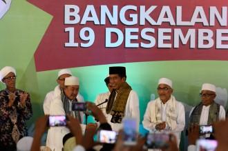 Ulama Se-Madura Deklarasi Dukung Jokowi