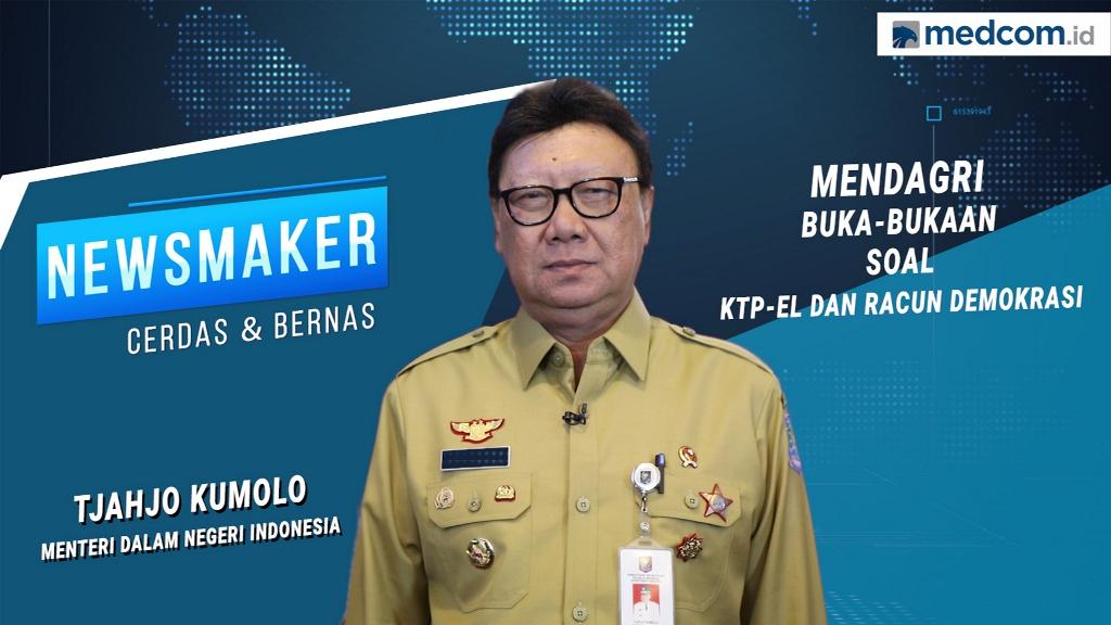 Menteri Dalam Negeri Tjahjo Kumolo. Foto: Dok/Medcom.id