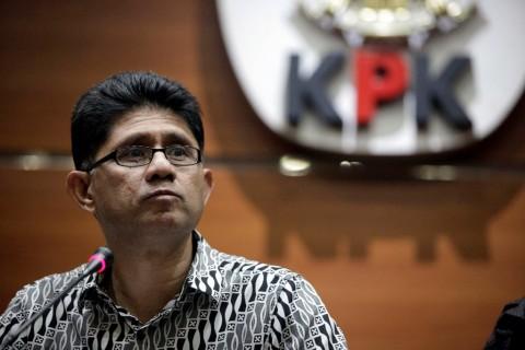 Wakil Ketua KPK Laode M Syarif. Foto: MI/ ROMMY PUJIANTO.