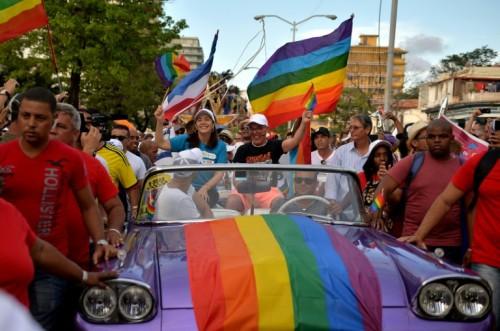 Kelompk LGBT di Kuba (Foto:AFP)