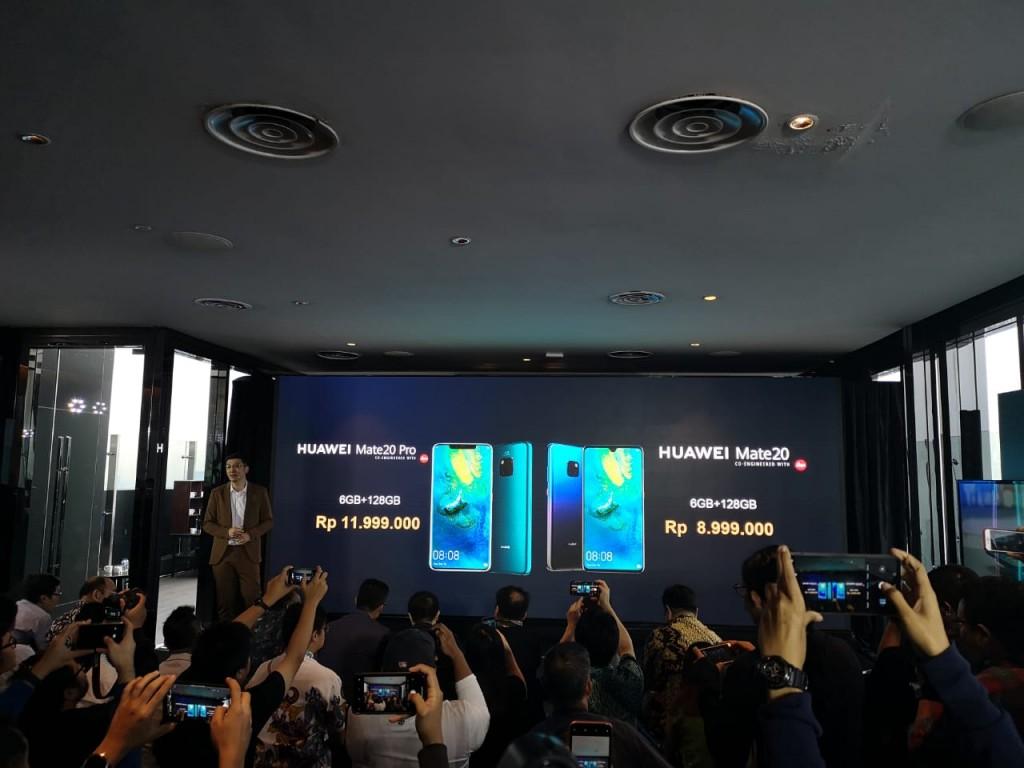 Peluncuran Huawei Mate 20 dan Mate 20 Pro.