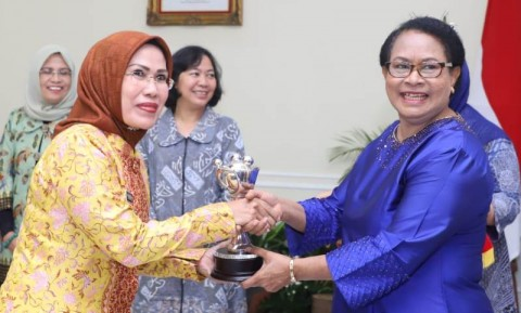 Bupati Serang <i>Hattrick</i> Raih Anugerah Parahita Ekapraya