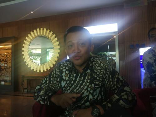 Direktur Utama BNBR Bobby Gafur Umar. Medcom/Annisa.