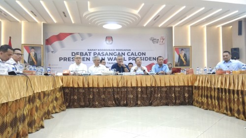 KPU will hold five presidential election debates from January