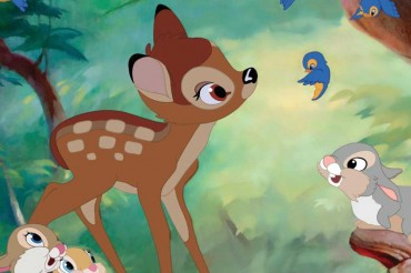 Napi Pembunuh Rusa Dihukum Nonton Film Kartun Bambi