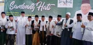 Ma'ruf Amin Minta Nahdliyin Total Memenangkan Jokowi