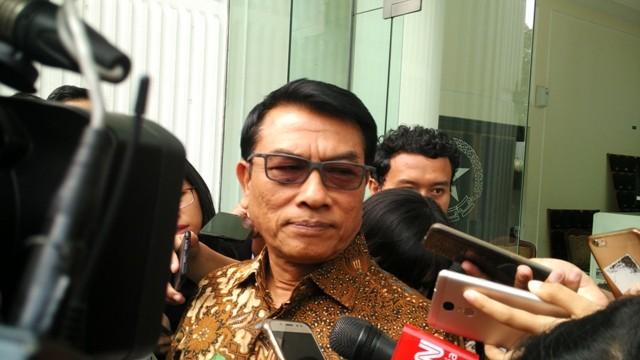 Kepala Staf Kepresidenan Jenderal Purn Moeldoko. Foto: Medcom.id/Dheri.