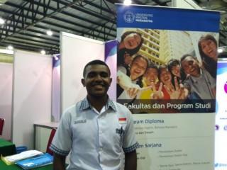 Ikut OSC Putra Papua Bercita-cita Jadi Presiden