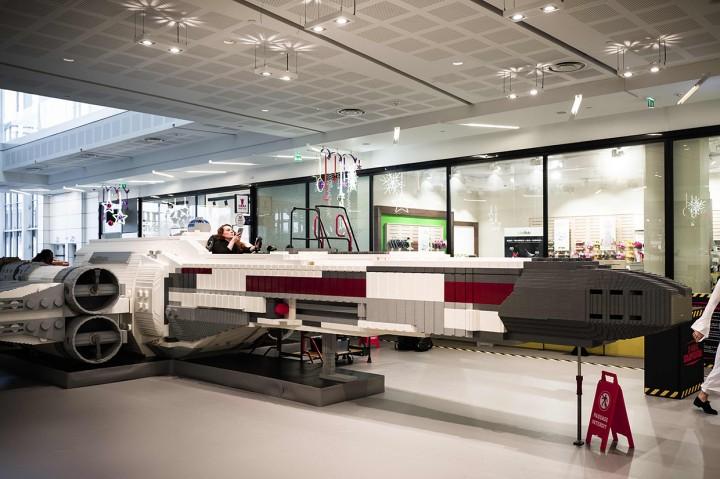 Kerennya Star Wars X-Wing dari Lego
